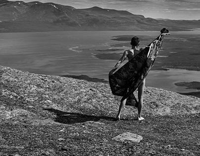 Nuolja - Indonesian dance on top of the Nuolja mountain
