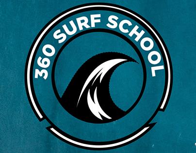 360 Surf School Logo