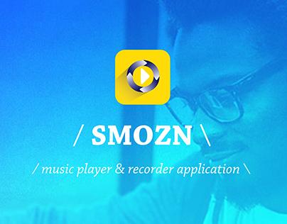 SMOZN | retro music application