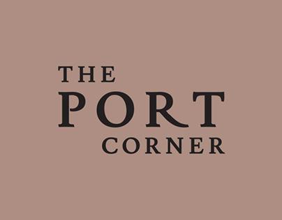 The Portcorner — Logo