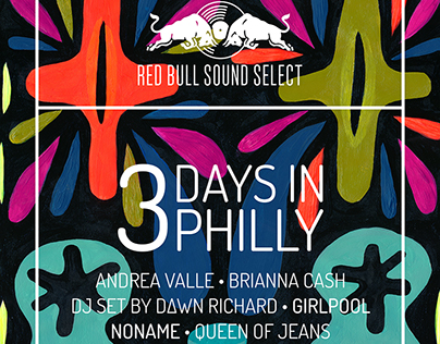 artwork for 3 Days in Philly Red Bull Sound Select