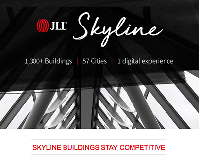 JLL Skyline campaign