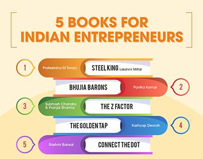 5 Books for Indian Entrepreneurs