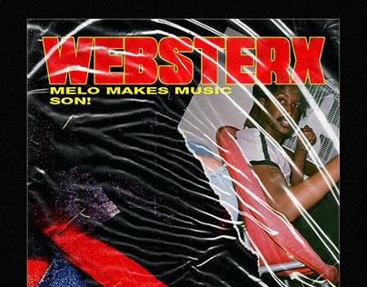 WebsterX Concert Flyers