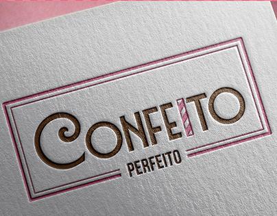 Confeito Perfeito Doceria- Logo