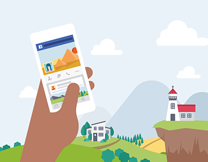 Facebook Safety Center Illustrations and Icons