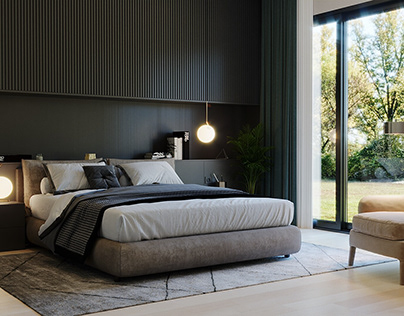 Bedroom Forest (Archviz)
