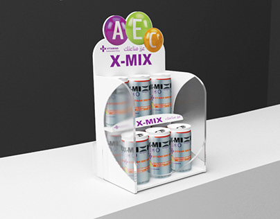 X-MIX Counter display
