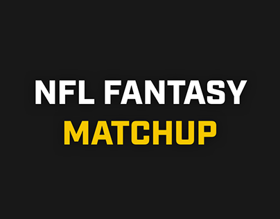 NFL Fantasy Matchup