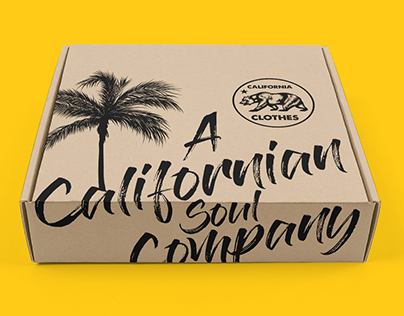 California Clothes | Packaging