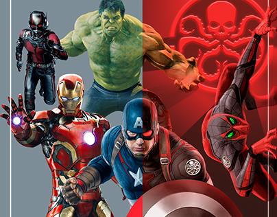 • Marvel Hydra • Photoshop/Digital Painting •