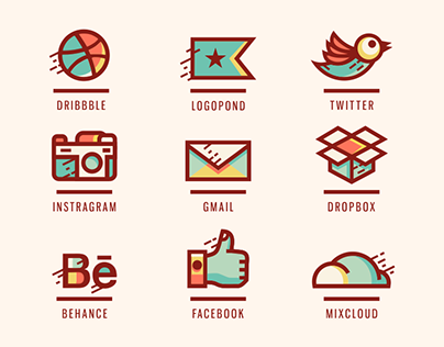 Personalized Social Icons