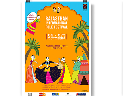 Rajasthan International Folk Festival Campaign