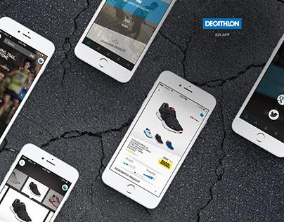 DECATHLON  Application mobile