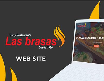 Las Brasas Web Site