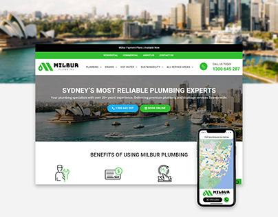 Milbur Plumbing Website Design & Development