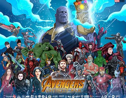 Artist Collaboration Avenger Infinity War 2018