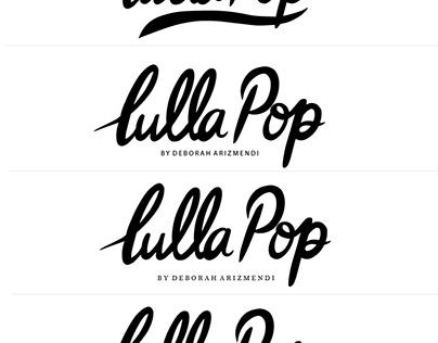 Lulla Pop | Brand Board Design