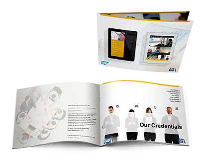 SAP Partnership - Print Brochure