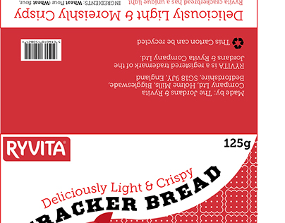 Ryvita Cracker Bread Packaging