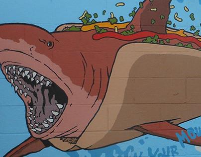 Barf Comics Murals