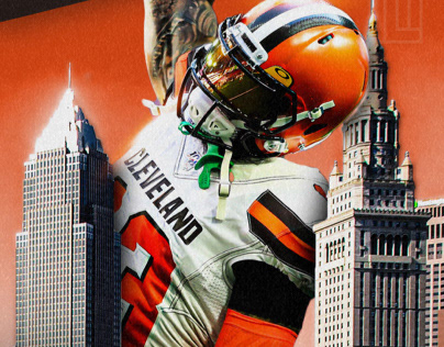 Odell Beckham Jr Projects Photos Videos Logos Illustrations And Branding On Behance