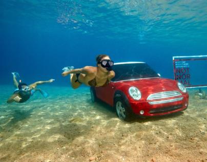 Mini Copper Underwater Ad