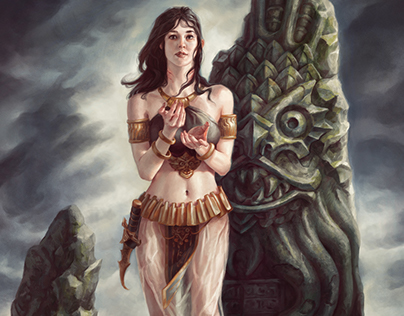 ImagineFX Workshop - Priestess of Dagon