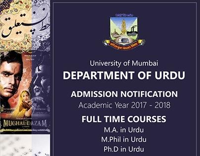 Mumbai University Banner
