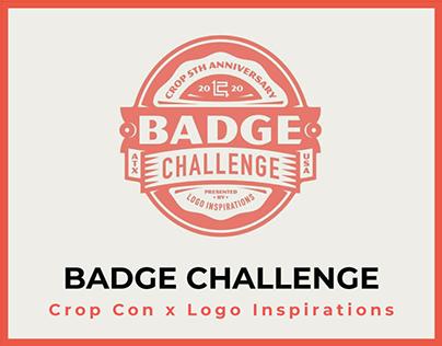 Crop Con x Logo Inspiration Badge Challenge