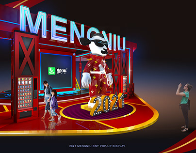 MENGNIU CNY POP-UP / BRAND LAUNCH CONCEPT