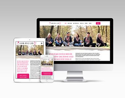 Website Stichting Vier het Leven Someren