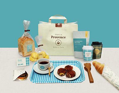 Rebranding of Provence Bakery & Cafe.