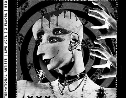 Visual Identity for Gothic Pogo Festival XIV (2019)