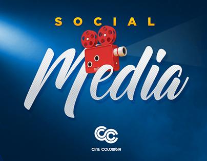 SOCIAL MEDIA - CINECOLOMBIA