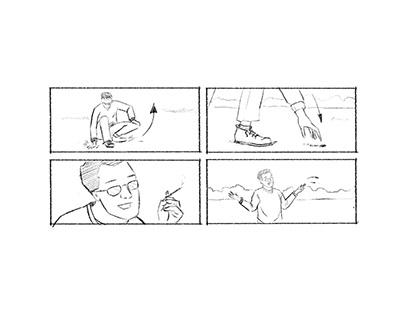 Storyboards - TONGUE STABS CHEEK