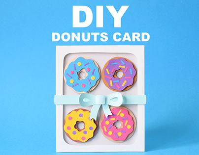 Donuts Card | DIY