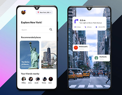 Travel App with AR Assistance