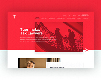 Tuerlinckx Tax Lawyers - Branding + Webdesign