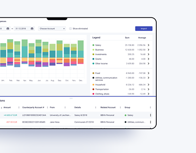 MyFinancier Web App - Best way to manage your finances