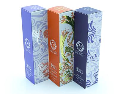 Little tree organics packaging design