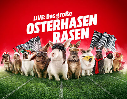 Media Markt Osterhasen Rasen (Rabbit Race)