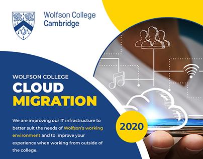 Cloud Migration - Wolfson College Cambridge