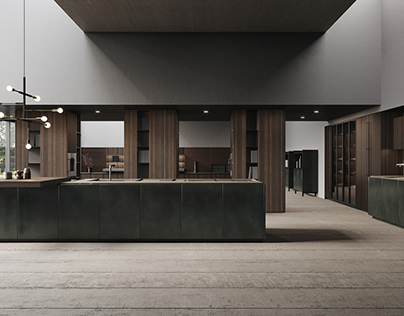 Kitchen Realistic Render #128