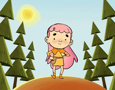 Nadia - animated series development