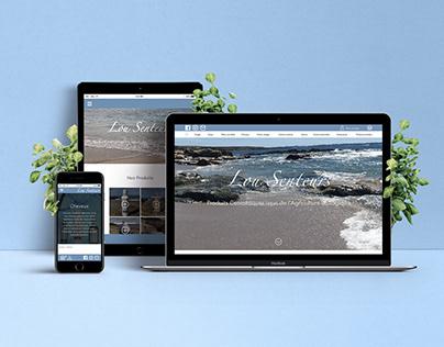 Lou Senteurs - Web Design