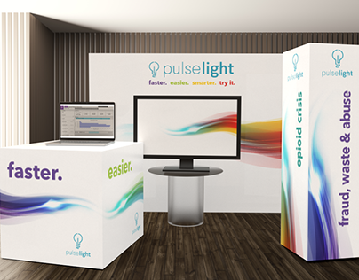 Trade Show Exhibit Booth: Pulselight
