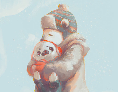 """Warm & Merry Christmas"" 8 Tiny Stories"