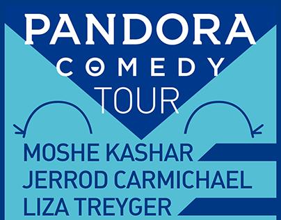 Pandora Radio Comedy Tour