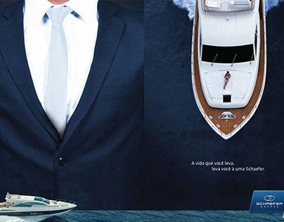 Schaefer Yachts [Gráficas hechas en Brasil]